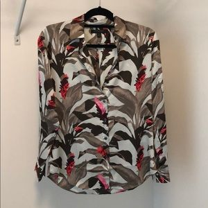 Banana Republic XS Dillon Shirt in Floral Print